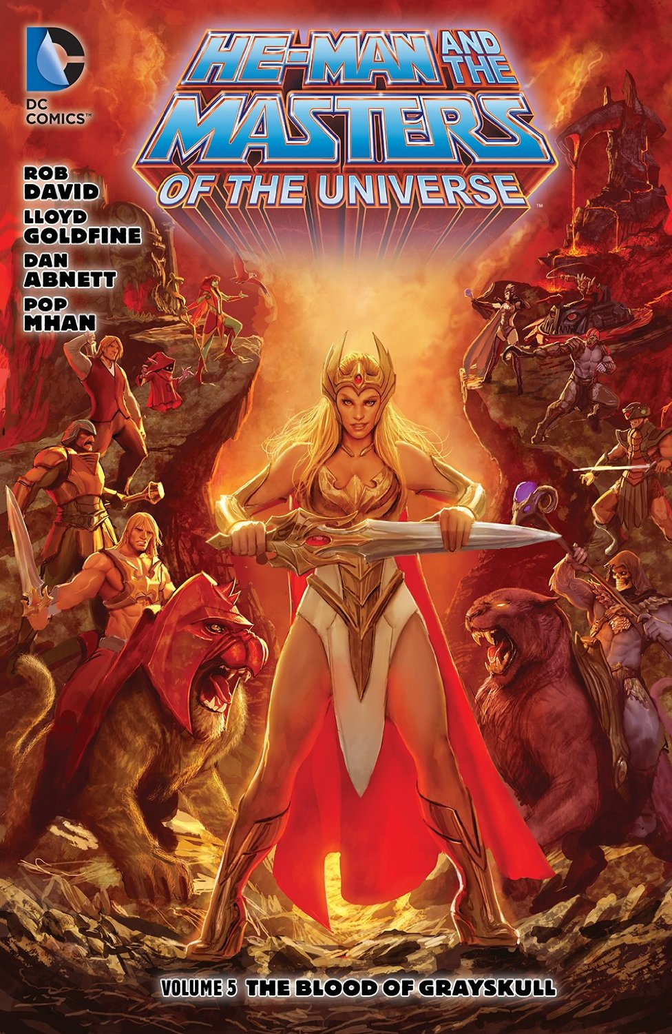 He-Man and the Masters of the Universe: The Blood of Grayskull (Collected)
