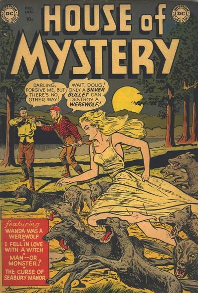 House of Mystery Vol 1 1