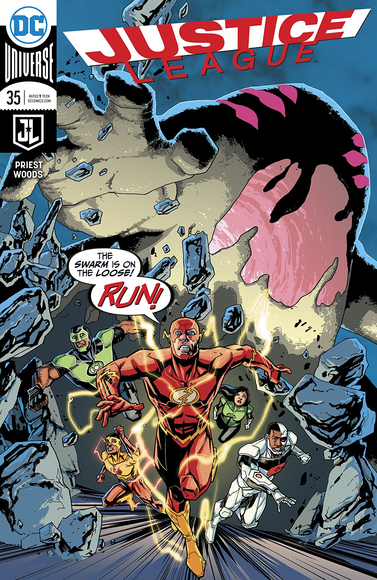 Justice League Vol 3 35