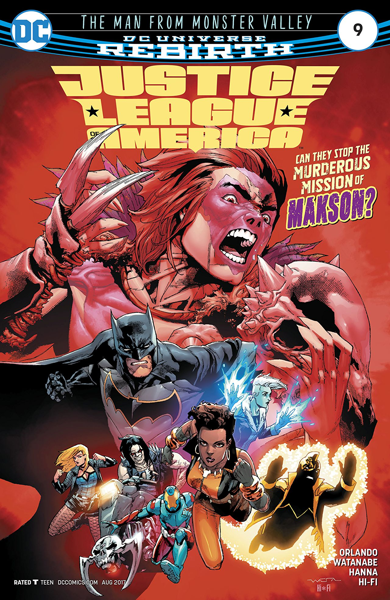 Justice League of America Vol 5 9