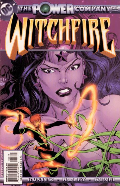 The Power Company: Witchfire Vol 1 1