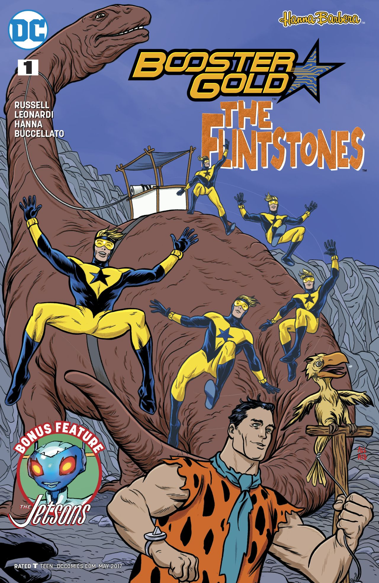 Booster Gold/The Flintstones Special Vol 1 1