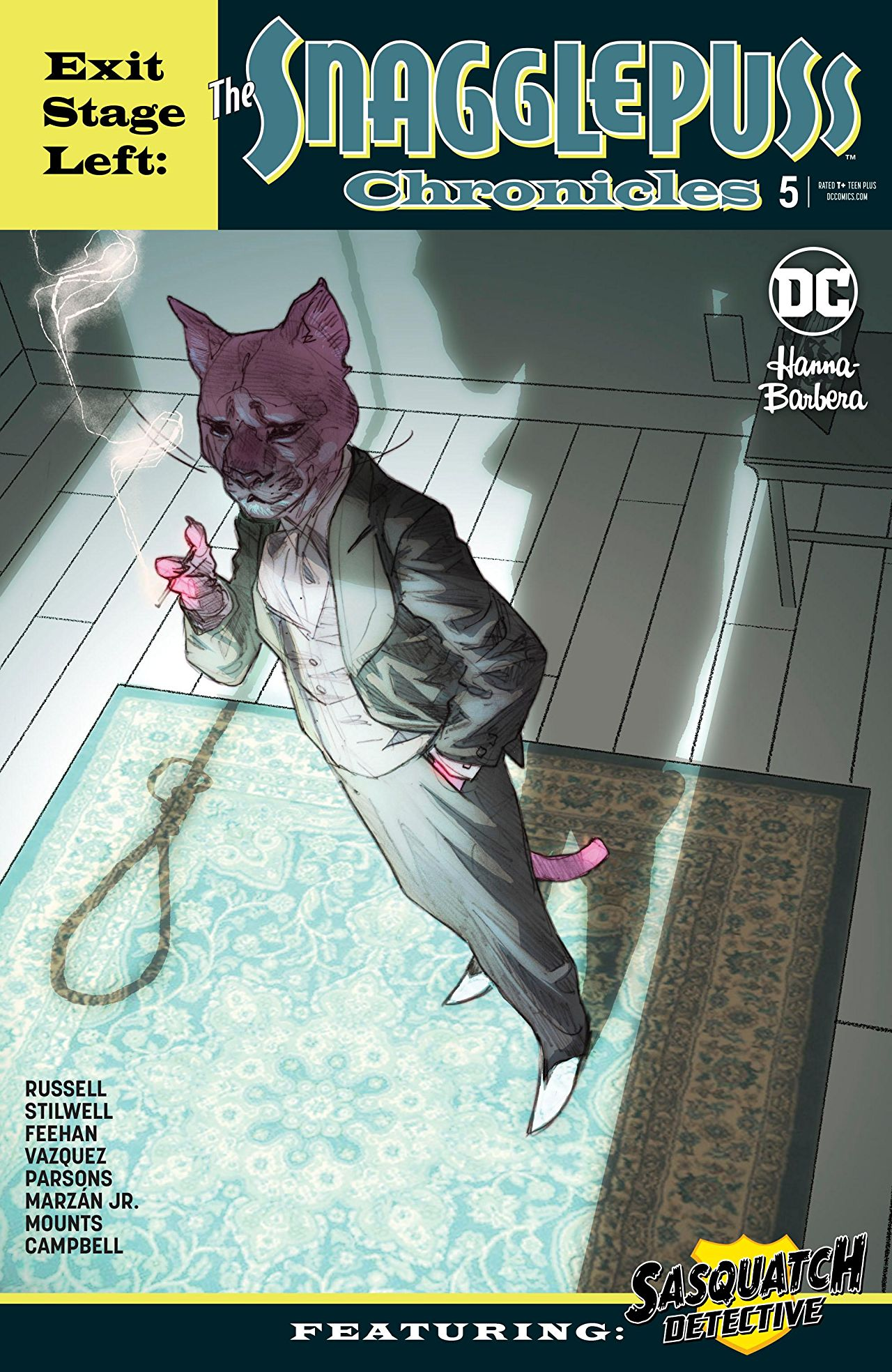 Exit Stage Left: The Snagglepuss Chronicles Vol 1 5