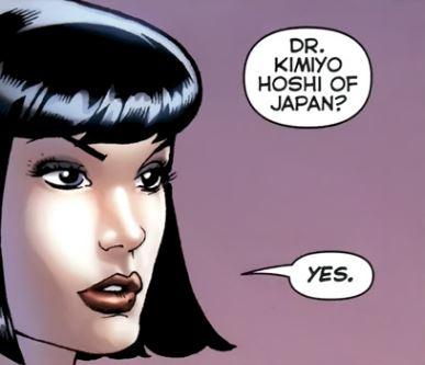 Kimiyo Hoshi (Flashpoint Timeline)
