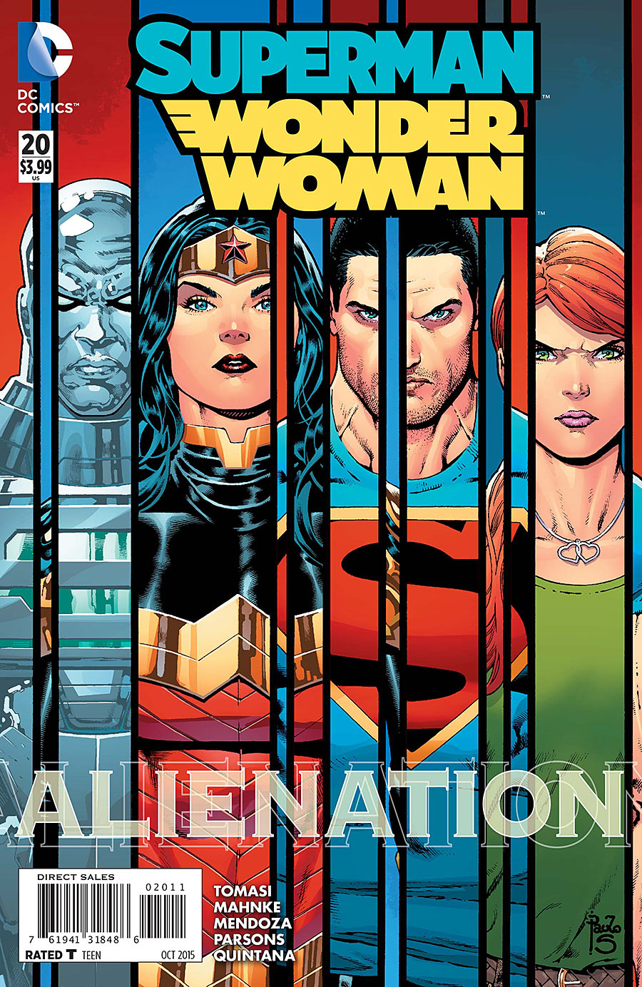 Superman/Wonder Woman Vol 1 20