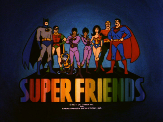 Super Friends (TV Series) Episode: The Man Beasts of Xra/Prejudice/Tiny World of Terror/Tibetan Raiders