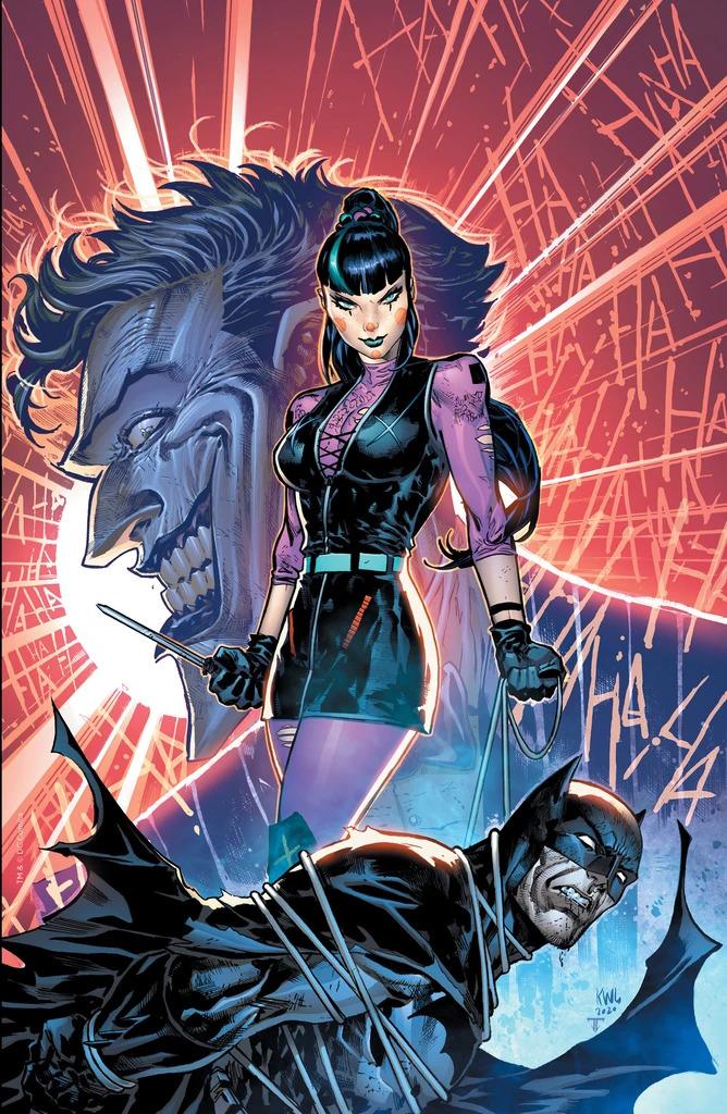 Batman Vol 3 100 Frankie's Comics Exclusive Ken Lashley Virgin Variant.jpg