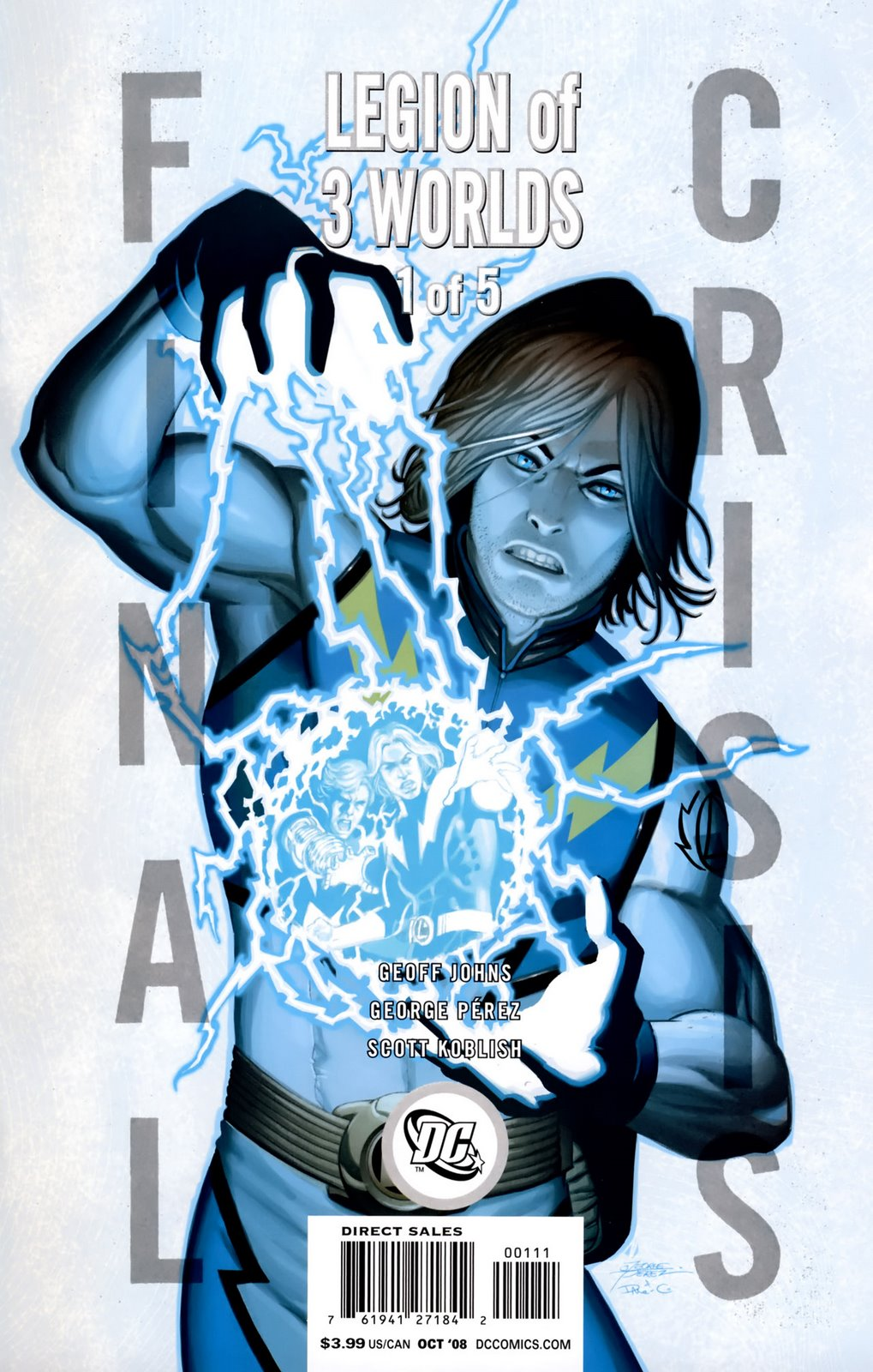 Final Crisis: Legion of 3 Worlds Vol 1