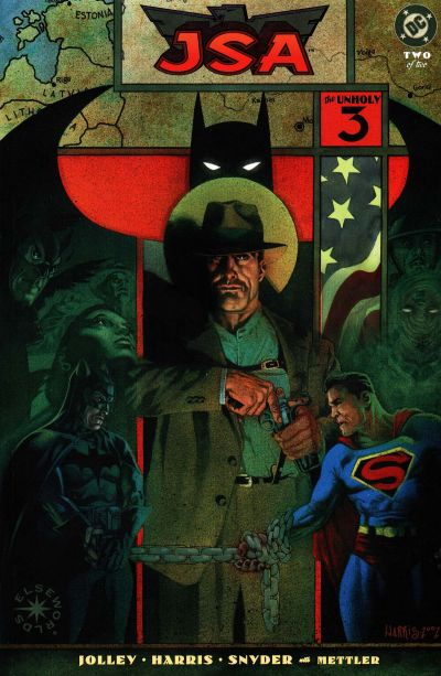 JSA: The Unholy Three Vol 1 2