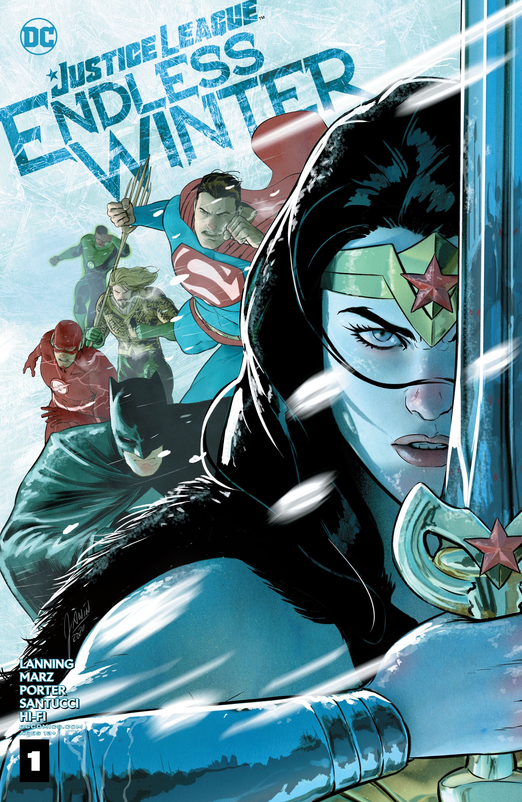 Justice League: Endless Winter Vol 1 1