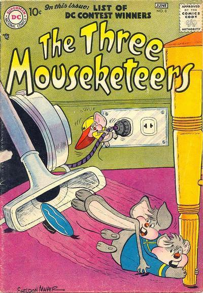 The Three Mouseketeers Vol 1 8