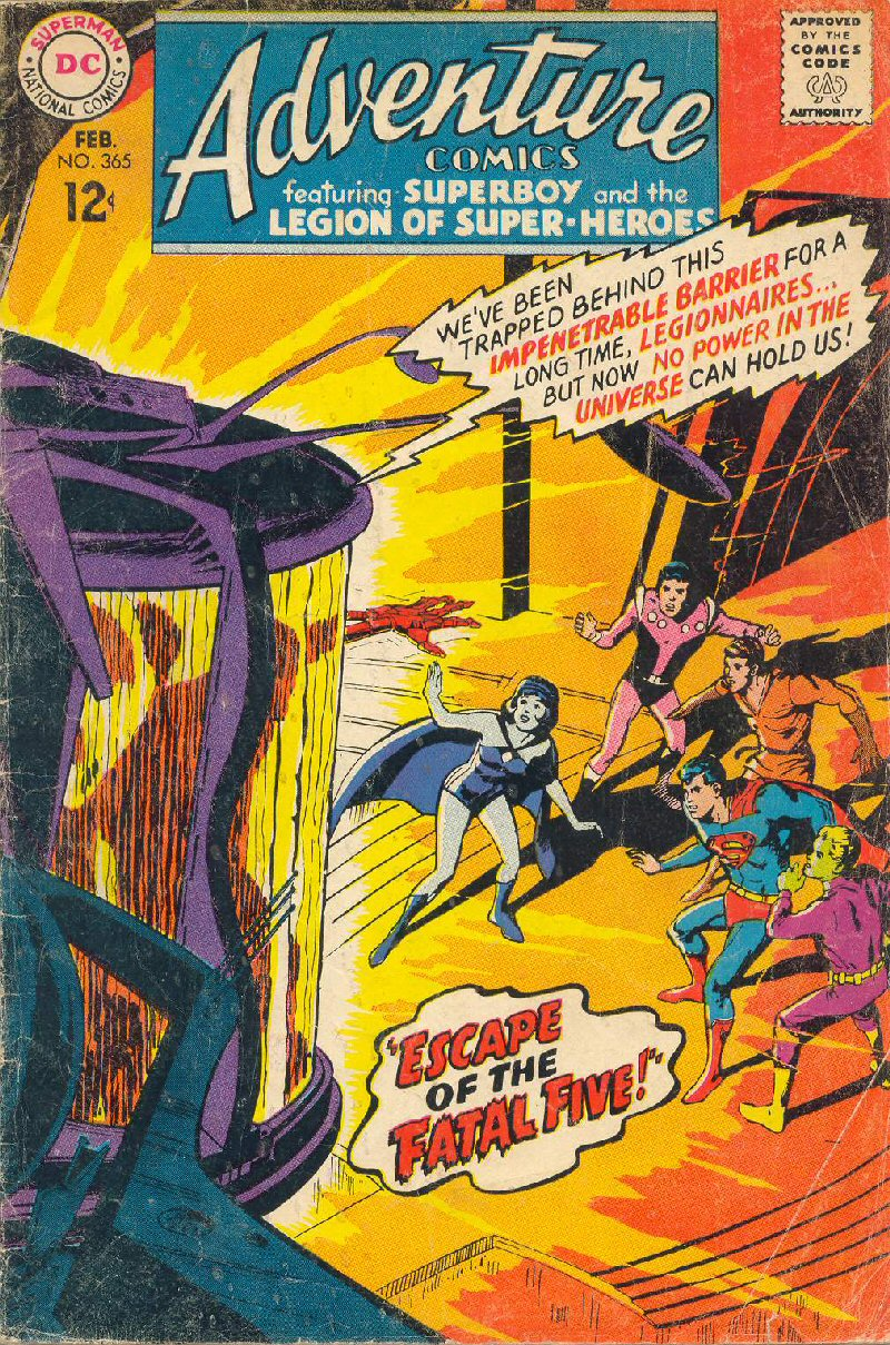 Adventure Comics Vol 1 365