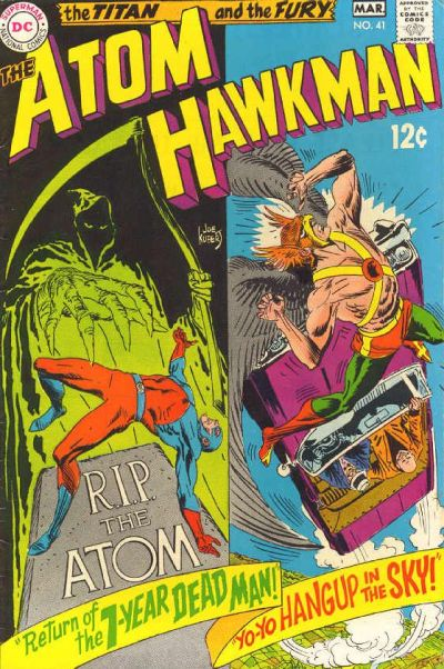 The Atom and Hawkman Vol 1 41