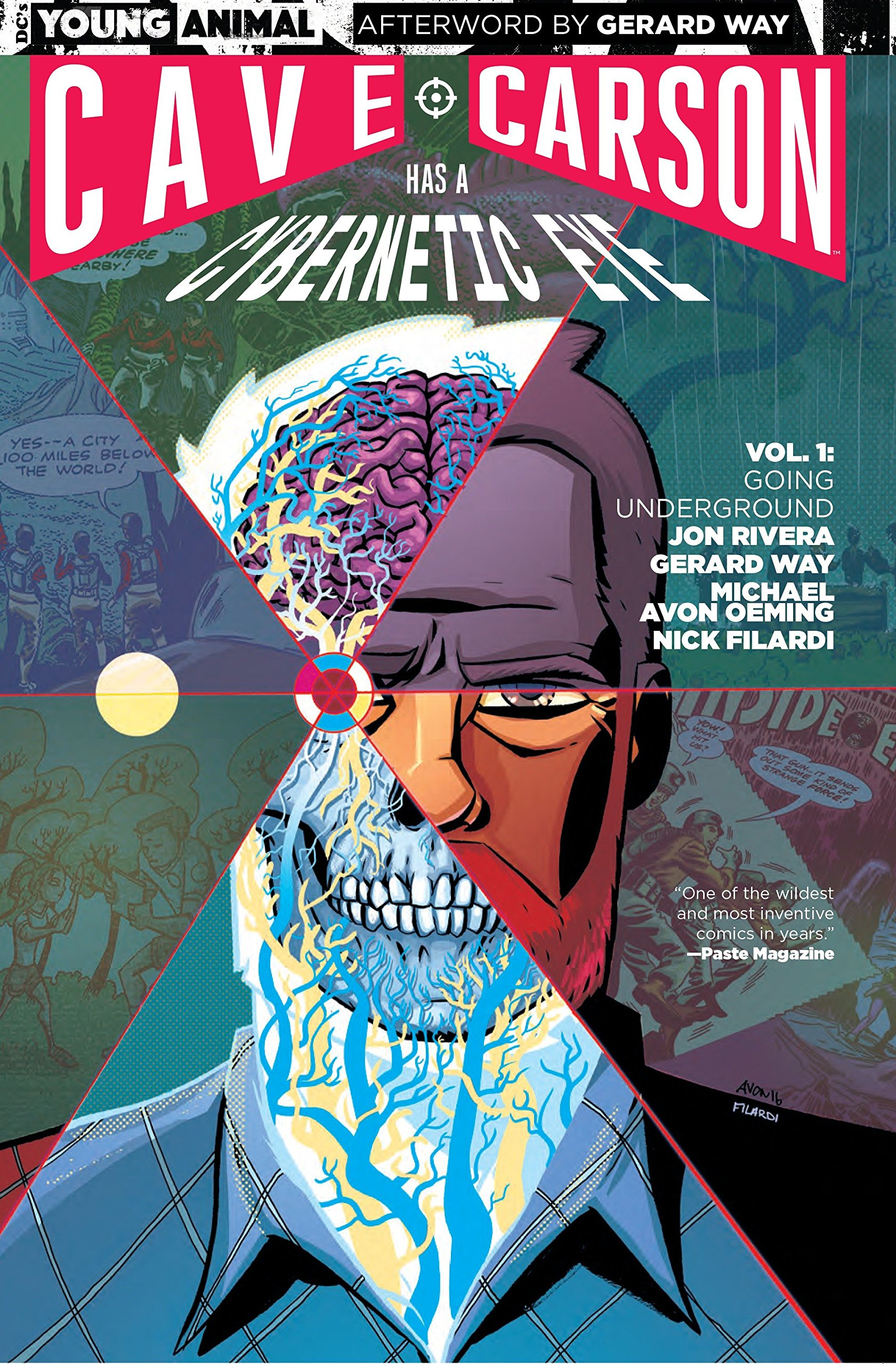 Cave Carson Has a Cybernetic Eye: Going Underground (Collected)