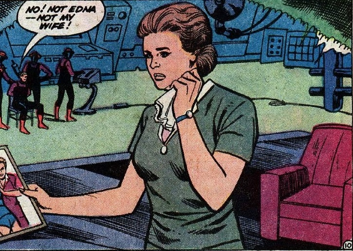 Edna Danvers (Earth-One)