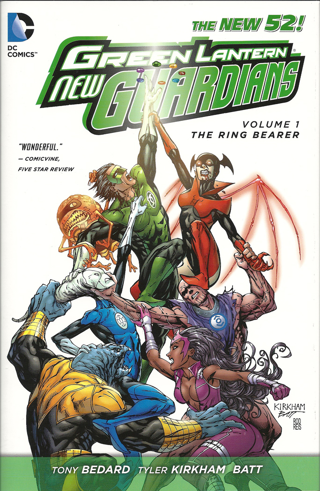 Green Lantern: New Guardians: The Ring Bearer (Collected)