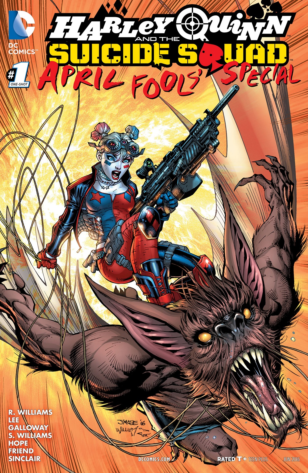Harley Quinn and the Suicide Squad April Fool's Special Vol 1 1
