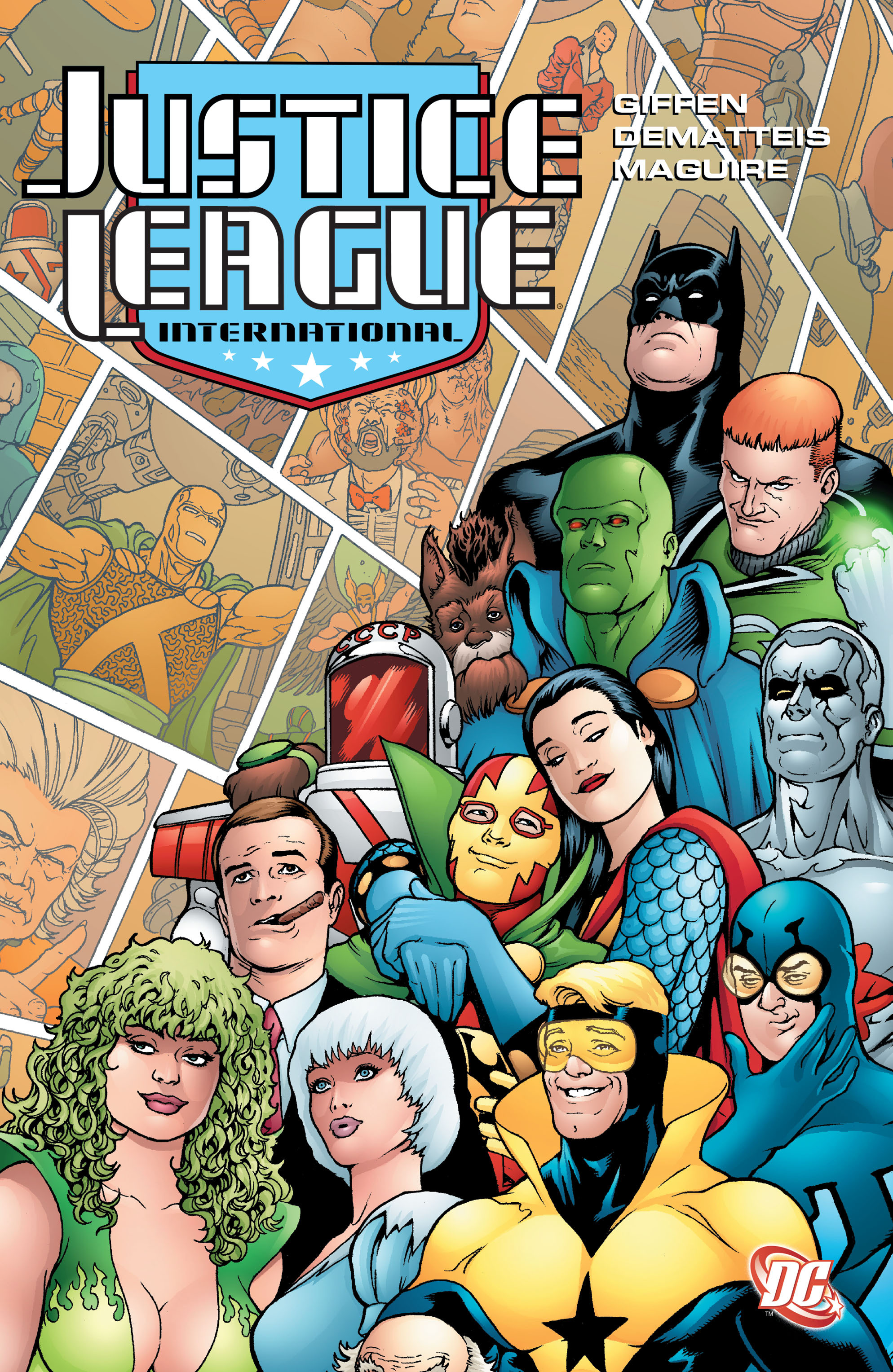 Justice League International: Volume Three (Collected)