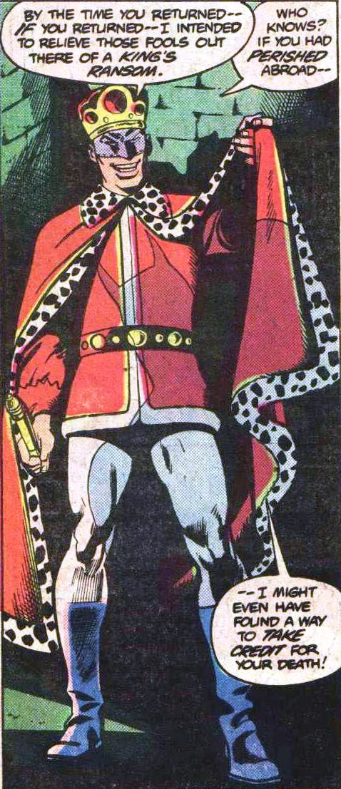 Monarch of Menace (Earth-One)