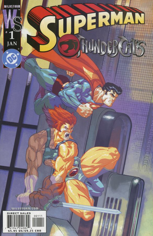 Superman/Thundercats Vol 1 1