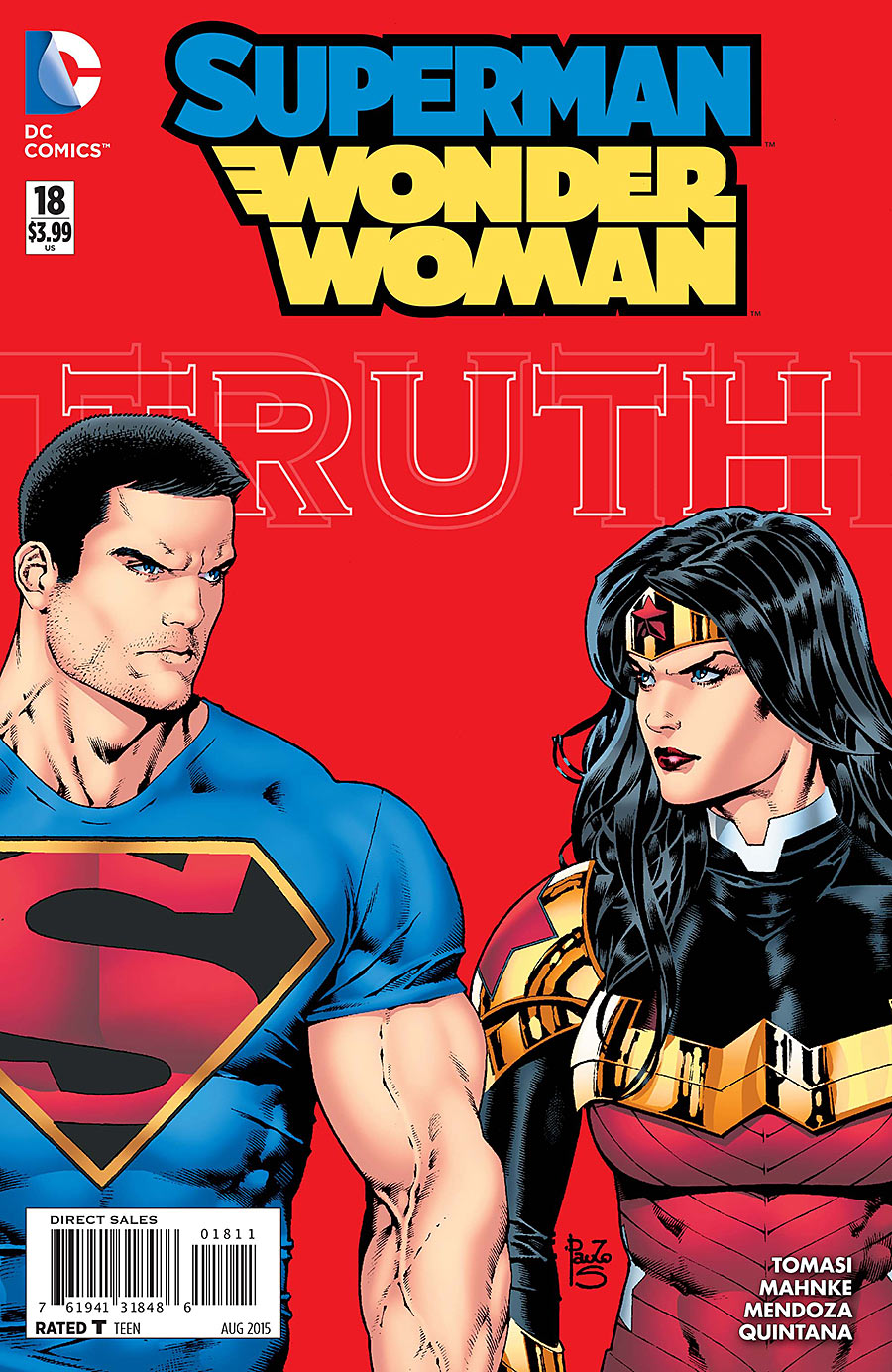 Superman/Wonder Woman Vol 1 18