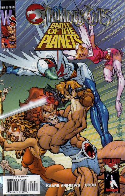 Thundercats/Battle of the Planets Vol 1 1