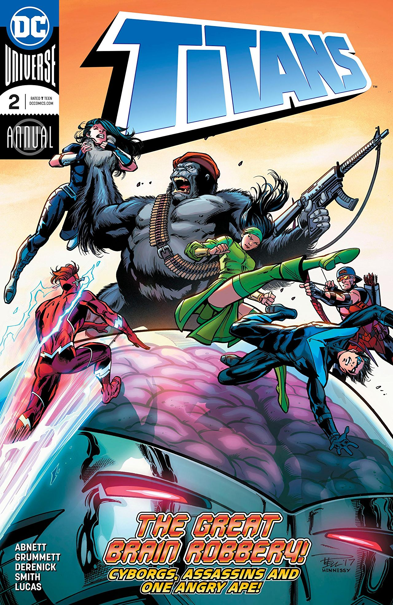 Titans Annual Vol 3 2