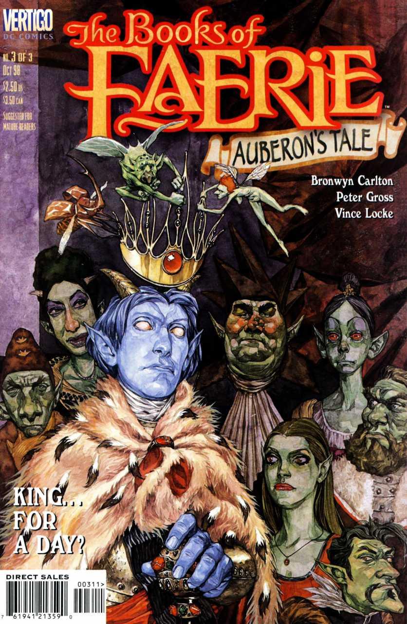 The Books of Faerie: Auberon's Tale Vol 1 3