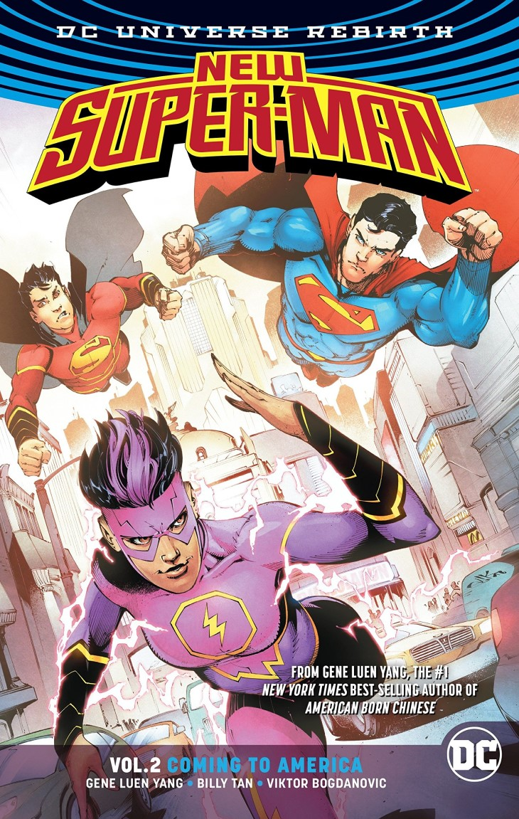 New Super-Man: Coming to America (Collected)