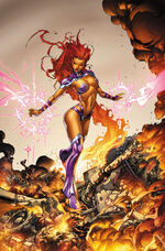 Starfire during her time with the Outlaws
