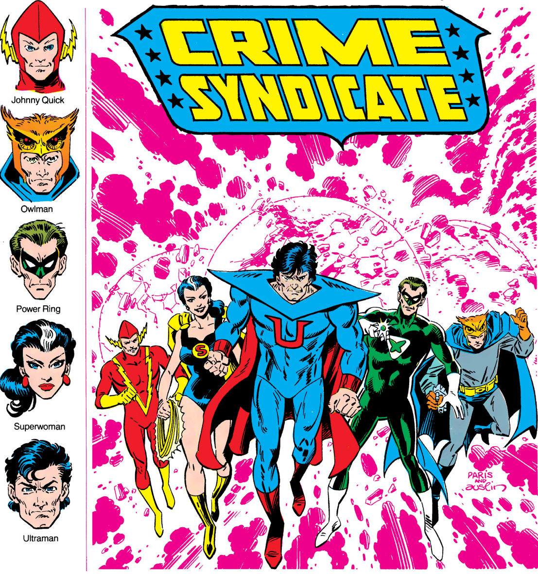 Crime Syndicate of America (Earth-Three)/Gallery