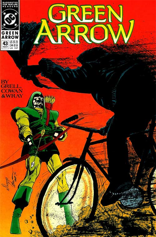 Green Arrow Vol 2 43