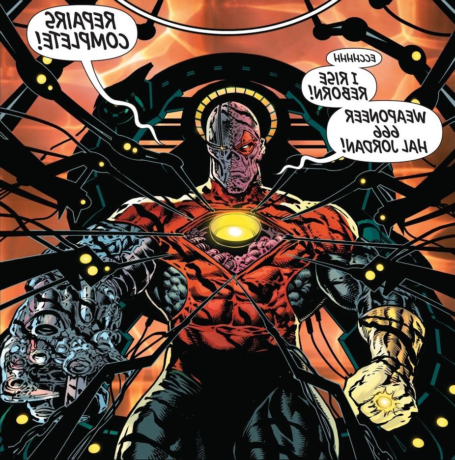 Hal Jordan (Antimatter Universe)