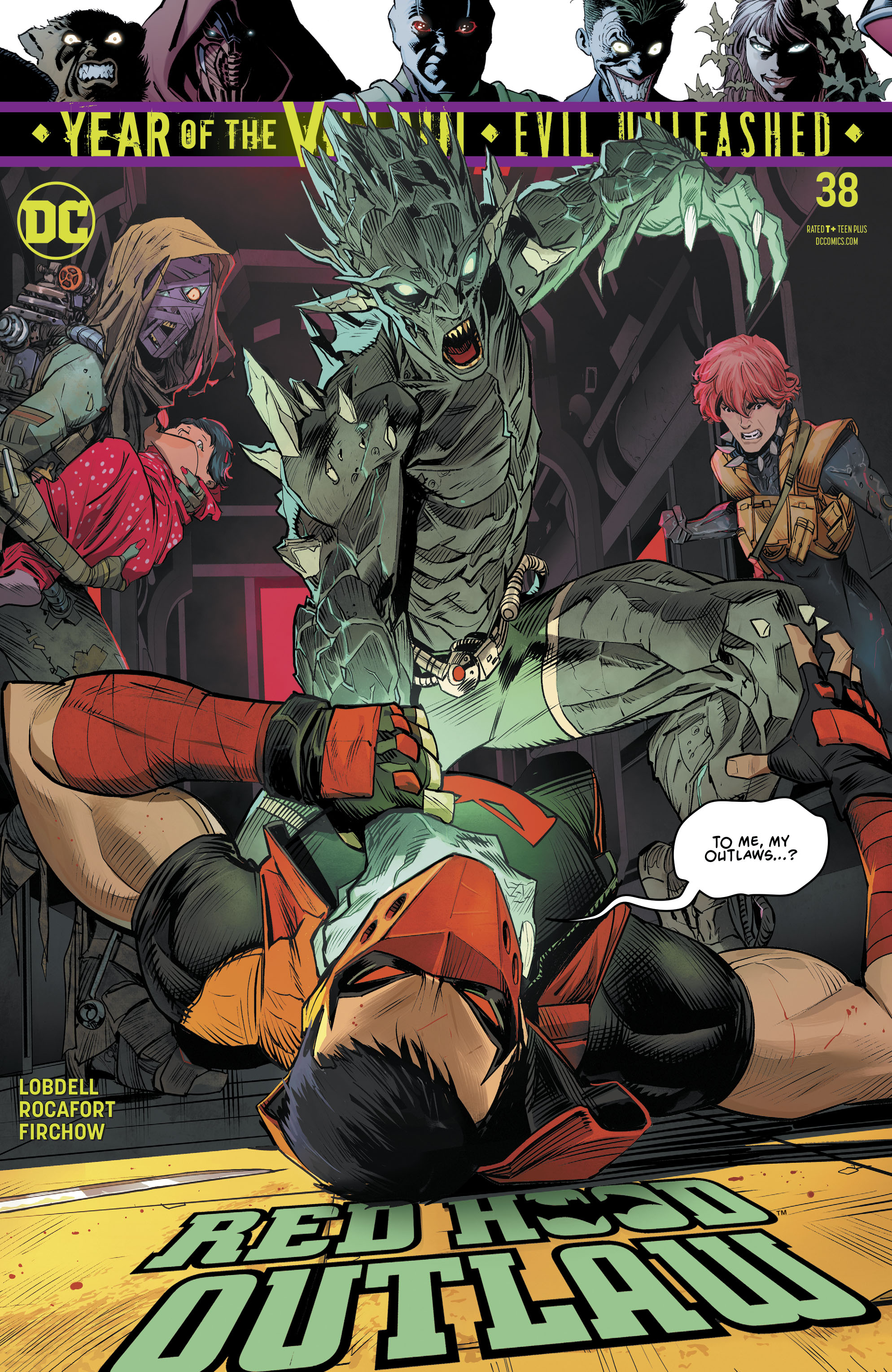 Red Hood: Outlaw Vol 1 38