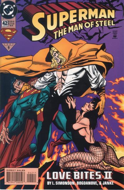 Superman: The Man of Steel Vol 1 42