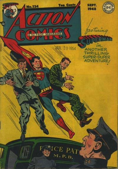 Action Comics Vol 1 124