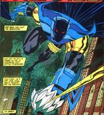 Batman prowls the night