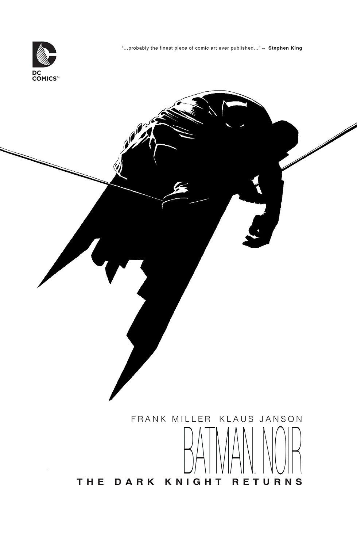 Batman Noir: The Dark Knight Returns (Collected)