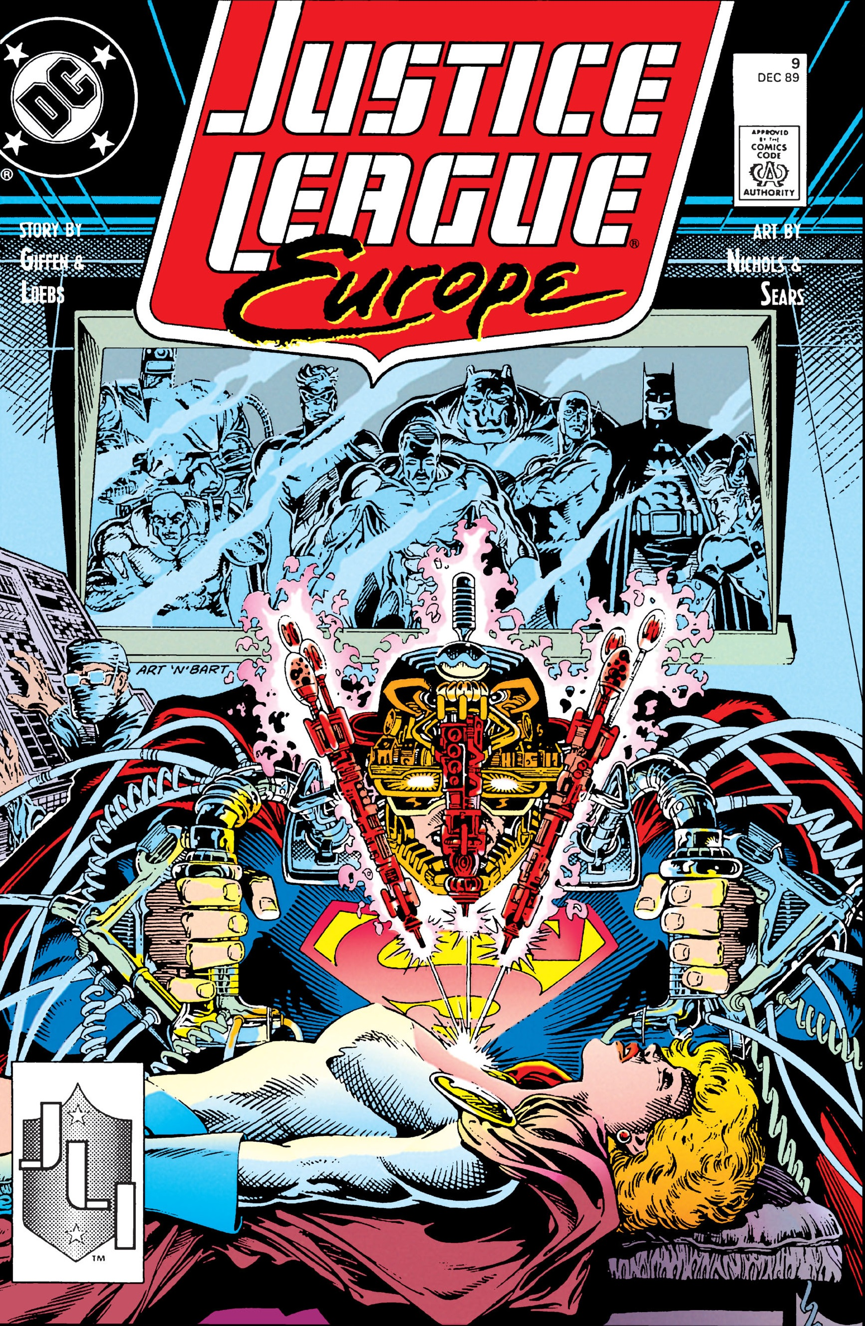 Justice League Europe Vol 1 9