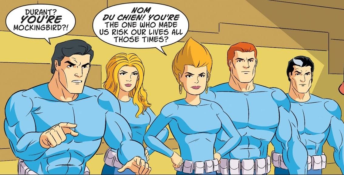 Secret Six (Scooby-Doo Team-Up)