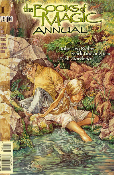 The Books of Magic Annual Vol 2 1
