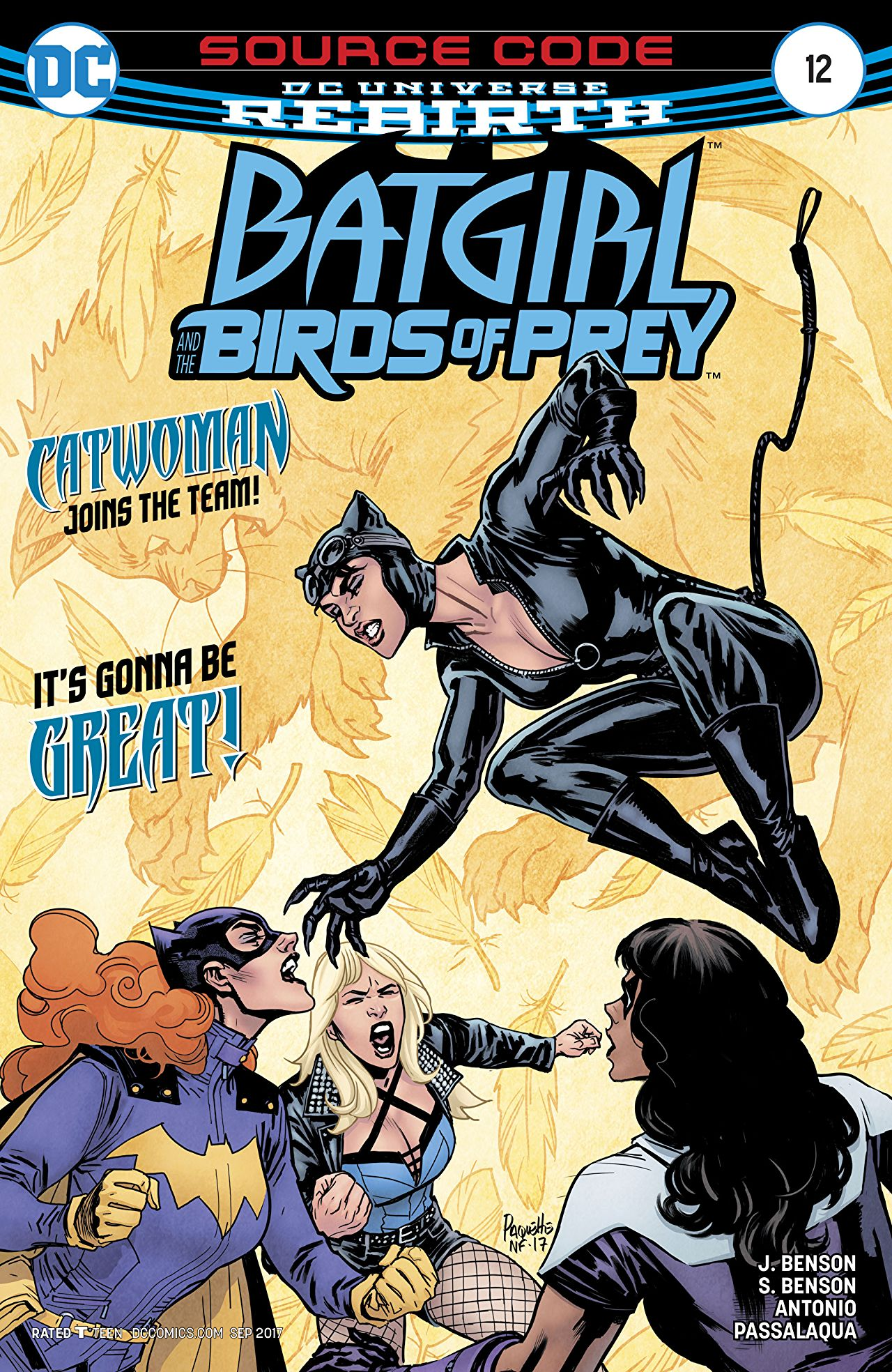 Batgirl and the Birds of Prey Vol 1 12
