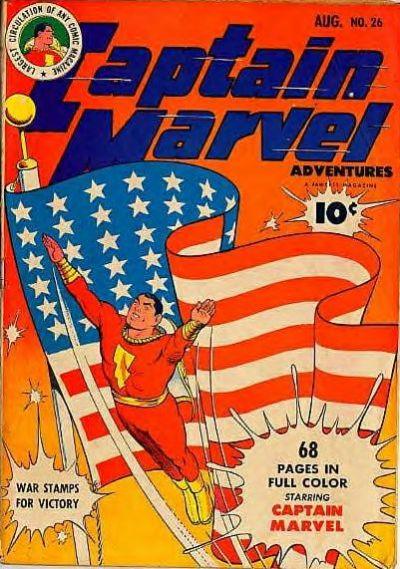 Captain Marvel Adventures Vol 1 26