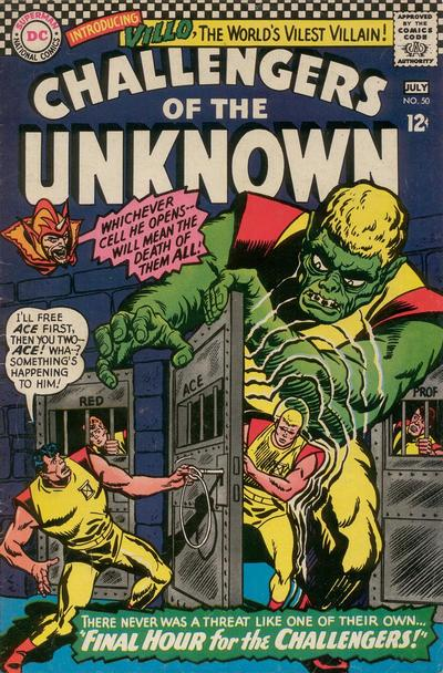 Challengers of the Unknown Vol 1 50