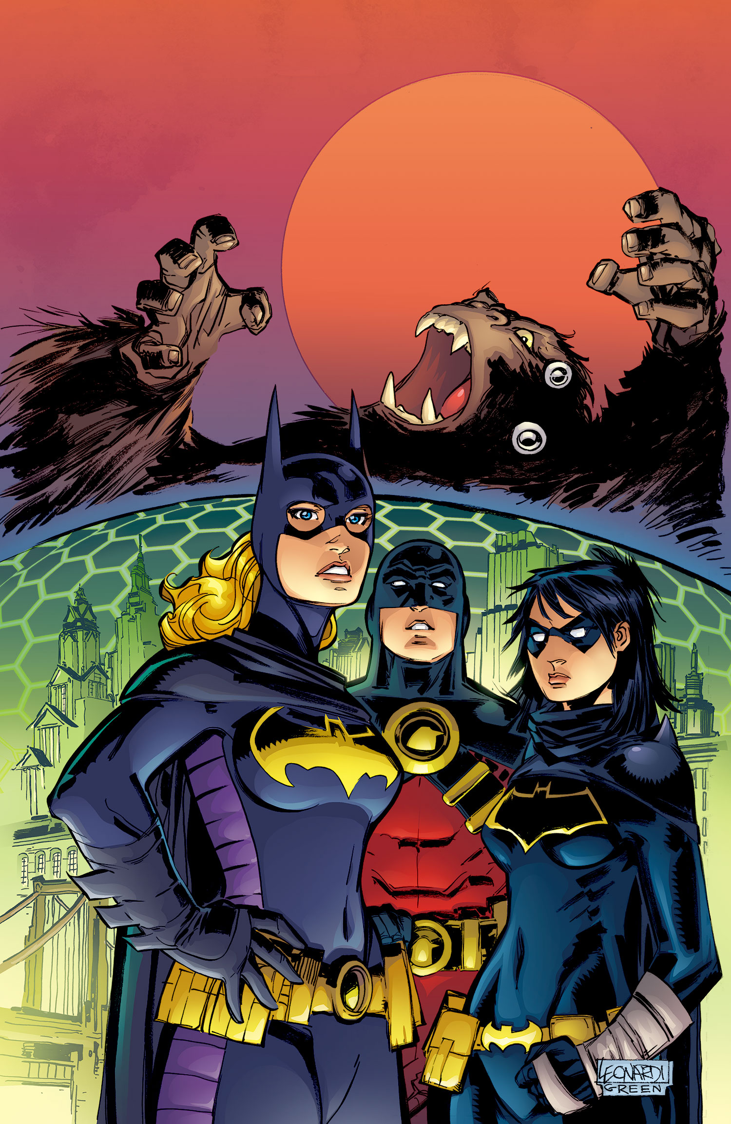 Convergence Batgirl Vol 1 1 Textless.jpg