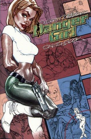 Danger Girl Sketchbook Vol 1 1