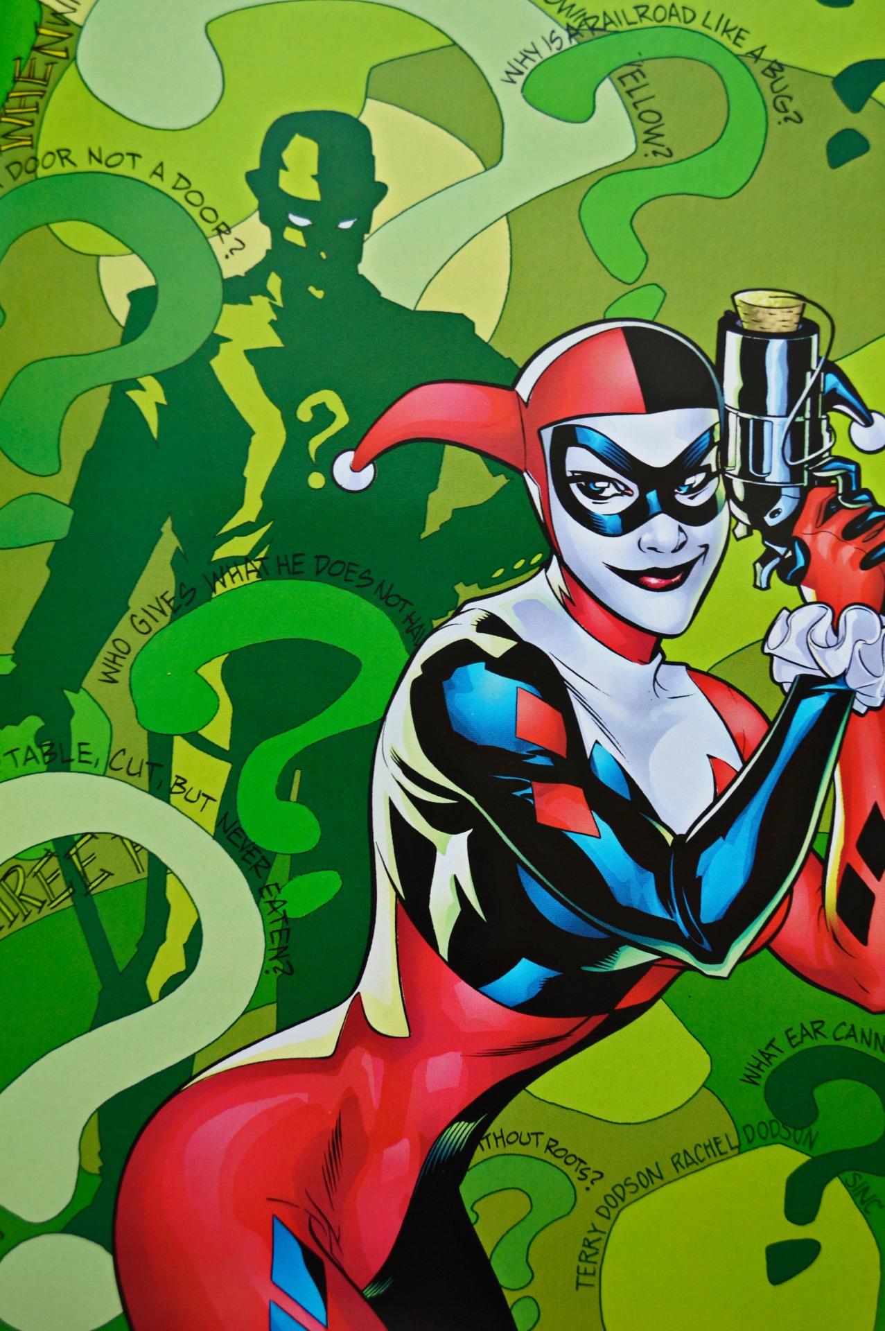 Harley Quinn Vol 1 6 Textless.jpg