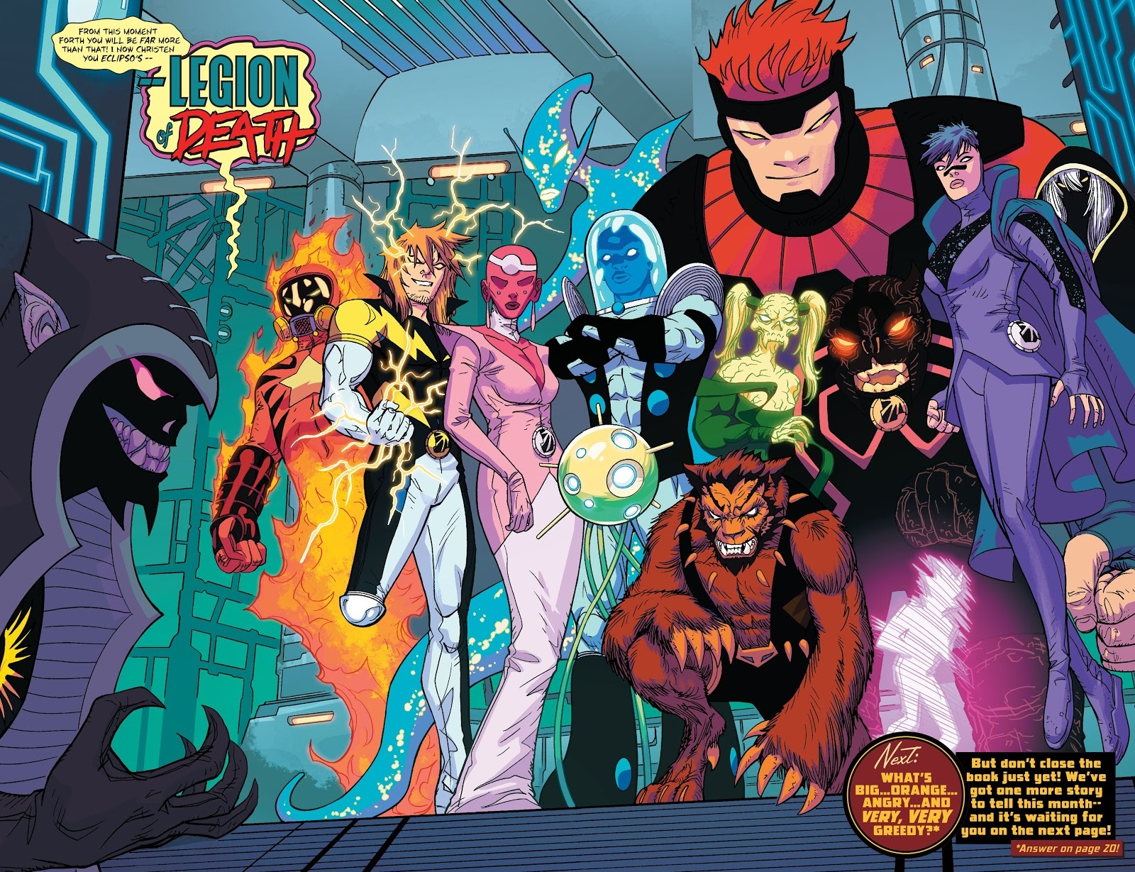 Legion of Death (Justice League 3000)