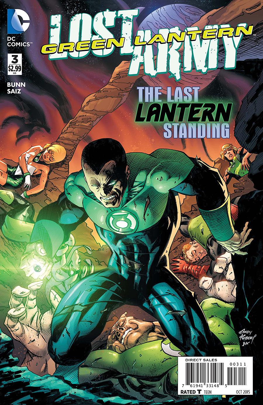 Green Lantern: The Lost Army Vol 1 3