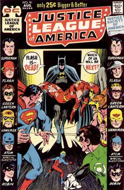 Justice League of America Vol 1 91